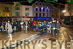 The Freshers Fest in the Square on Tuesday night.