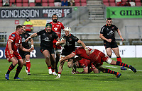 Sunday 22nd November 2020 | Ulster vs Scarlets<br /> <br /> Michael Lowry during the Guinness PRO14 Round 7 clash between Ulster Rugby and Scarlets at Kingspan Stadium, Ravenhill Park, Belfast, Northern Ireland. Photo by John Dickson / Dicksondigital