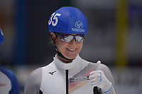 SPEEDSKATING: 24-11-2019 Tomaszów Mazowiecki (POL), ISU World Cup Arena Lodowa, Mass Start Ladies, Claudia Pechstein (GER), ©photo Martin de Jong