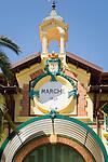 France, Provence-Alpes-Côte d'Azur, Menton: market hall (detail) in old town | Frankreich, Provence-Alpes-Côte d'Azur, Menton: Markthalle (Detail) in der Altstadt