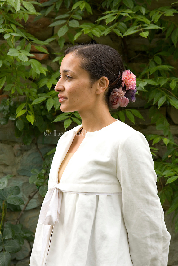 Santa Maddalena Foundation, Florence, Italy, 2007. Zadie Smith, English writer.