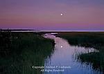 Moonrise over Dorcus Bay, Bruce Peninsula National Park, Ontario