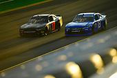 #17: Camden Murphy, Rick Ware Racing, Chevrolet Camaro, #13: John Jackson, Motorsports Business Management, Toyota Camry MBM Motorsports