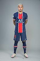 14th October 2020, Paris, France; Official League 1 player portrait for Paris Saint Germain;  PAREDES Leandro
