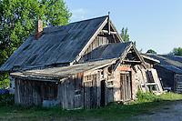 Hütte in Kolka, Lettland, Europa