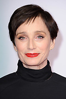 "Kristin Scott Thomas<br /> arriving for the ""Tomb Raider"" premiere at the Vue Leicester Square, London<br /> <br /> ©Ash Knotek  D3385  0/03/2018"