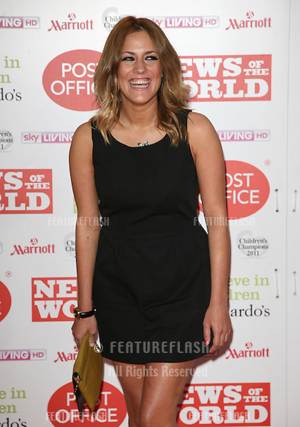 Caroline Flack arriving for The Children's Champion Awards 2011, at the Grosvenor House Hotel, London. 30/03/2011  Picture by: Alexandra Glen / Featureflash