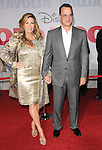 Tom Hanks & Rita Wilson at Disney's World Premiere of Old Dogs held at The El Capitan Theatre in Hollywood, California on November 09,2009                                                                   Copyright 2009 DVS / RockinExposures