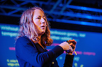 Thursday  29 May 2014, Hay on Wye, UK<br /> Pictured: Oceanographer Lucy Carpenter<br /> Re: The Hay Festival, Hay on Wye, Powys, Wales UK.