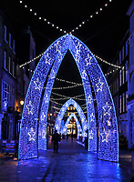 NOV 25 South Molton Street Christmas Lights