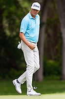 30th May 2021; Fort Worth, Texas, USA;  Patton Kizzire celebrates after making birdie on the 8th hole during the final round of the Charles Schwab Challenge on May 30, 2021 at Colonial Country Club in Fort Worth, TX.