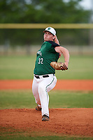 Dartmouth Big Green relief pitcher Jackson Bubala (32) delivers a pitch during a game against the Southern Maine Huskies on March 23, 2017 at Lake Myrtle Park in Auburndale, Florida.  Dartmouth defeated Southern Maine 9-1.  (Mike Janes/Four Seam Images)