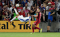 Orlando, FL - Friday Oct. 06, 2017: Blas Pérez during a 2018 FIFA World Cup Qualifier between the men's national teams of the United States (USA) and Panama (PAN) at Orlando City Stadium.