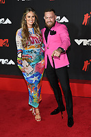 NEW YORK, NY- SEPTEMBER 12: Dee Devlin and Conor McGregor at the 2021 MTV Video Music Awards at Barclays Center on September 12, 2021 in Brooklyn,  New York City. <br /> CAP/MPI/JP<br /> ©JP/MPI/Capital Pictures