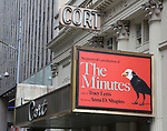 """""""The Minutes"""" - Theatre Marquee"""