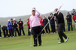 Shane Lowry who is the leader by 2 shots after the 2nd day of the 3 Irish Open in Baltray...Photo NEWSFILE/Jenny Matthews.(Photo credit should read Jenny Matthews/NEWSFILE)....This Picture has been sent you under the condtions enclosed by:.Newsfile Ltd..The Studio,.Millmount Abbey,.Drogheda,.Co Meath..Ireland..Tel: +353(0)41-9871240.Fax: +353(0)41-9871260.GSM: +353(0)86-2500958.email: pictures@newsfile.ie.www.newsfile.ie.FTP: 193.120.102.198.