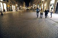 - Milan, Dante street....- Milano, via Dante