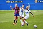 Liga IBERDROLA. Game 16.<br /> FC Barcelona vs UDG Tenerife Egatesa: 6-1.<br /> Mariona Caldentey vs Silvia Doblado.