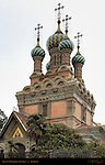 Onion Domes over Florence Russian Orthodox Church of the Nativity via Leone X Florence