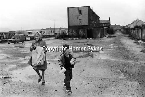 Londonderry 1983. The Creggan Estate 1983
