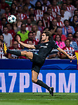 Marcos Alonso of Chelsea FC in action during the UEFA Champions League 2017-18 match between Atletico de Madrid and Chelsea FC at the Wanda Metropolitano on 27 September 2017, in Madrid, Spain. Photo by Diego Gonzalez / Power Sport Images