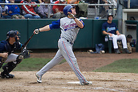 July 22, 2007: Vancouver Canadians' outfielder Corey Brown during an at-bat against the Everett AquaSox in a Northwest League game at Everett Memorial Stadium in Everett, Washington.