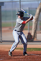 Jacob Winstead (54), from Salem, Oregon, while playing for the Indians during the Under Armour Baseball Factory Recruiting Classic at Red Mountain Baseball Complex on December 29, 2017 in Mesa, Arizona. (Zachary Lucy/Four Seam Images)