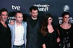 Premiere in Barcelona: ¿Quien mato a Bambi?<br /> Ernesto Alterio, Andres Iniesta, Julian Villagran, Ursula Corbero & Clara Lago.