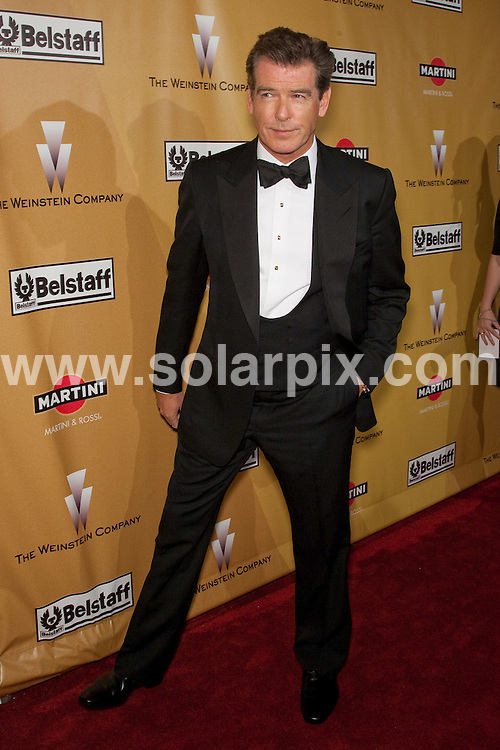 **ALL ROUND PICTURES FROM SOLARPIX.COM**.**SYNDICATION RIGHTS FOR UK, AUSTRALIA, DENMARK, PORTUGAL, S. AFRICA, SPAIN & DUBAI (U.A.E) ONLY**.2010 Weinstein Golden Globe After Party - Arrivals,   Bar 210 at The Beverly Hilton Hotel / Beverly Hills, CA, USA. 17 January 2010..This pic: Pierce Brosnan..JOB REF: 10485 PHZ Mayer   DATE: 17_01_2010.**MUST CREDIT SOLARPIX.COM OR DOUBLE FEE WILL BE CHARGED**.**MUST NOTIFY SOLARPIX OF ONLINE USAGE**.**CALL US ON: +34 952 811 768 or LOW RATE FROM UK 0844 617 7637**