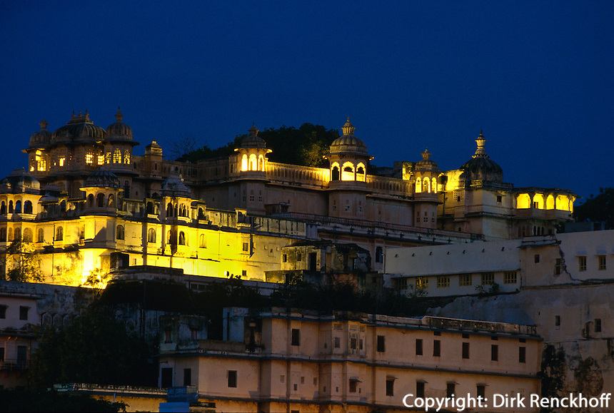 City Palace, Udaipur (Rajasthan), Indien