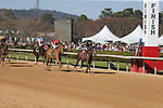 March 6, 2021: Bode's Maker (8) with jockey Ramon A Vazquez before crossing the finish line in the fifth race at Oaklawn Racing Casino Resort in Hot Springs, Arkansas on March 6, 2021. Justin Manning/Eclipse Sportswire/CSM