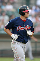Pawtucket Red Sox Jeff Bailey during an International League game at Frontier Field on July 4, 2006 in Rochester, New York.  (Mike Janes/Four Seam Images)