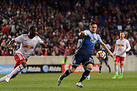 Harrison, NJ - Wednesday Feb. 22, 2017: Jake Nerwinski during a Scotiabank CONCACAF Champions League quarterfinal match between the New York Red Bulls and the Vancouver Whitecaps FC at Red Bull Arena.