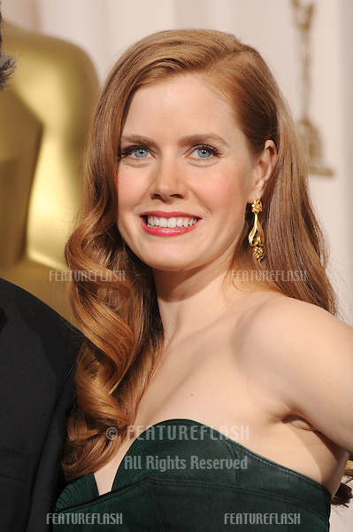 Amy Adams at the 80th Annual Academy Awards at the Kodak Theatre, Hollywood..February 24, 2008 Los Angeles, CA.Picture: Paul Smith / Featureflash