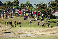 Michael Hendry tees off on the 17th. Day four of the Renaissance Brewing NZ Stroke Play Championship at Paraparaumu Beach Golf Club in Paraparaumu, New Zealand on Sunday, 21 March 2021. Photo: Dave Lintott / lintottphoto.co.nz