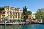 Italy, Trentino, Lake Garda, Riva del Garda: Hotel Sole | Italien, Trentino, Gardasee, Riva del Garda: das Hotel Sole