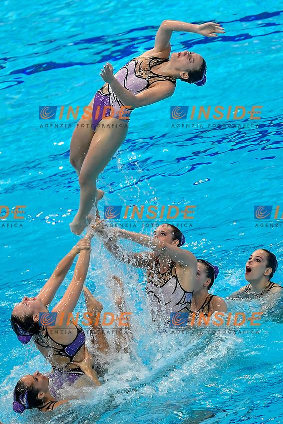 Team HUNGARY HUN <br /> HIGHLIGHTS <br /> Artistic Swimming<br /> Budapest  - Hungary  15/5/2021<br /> Duna Arena<br /> XXXV LEN European Aquatic Championships<br /> Photo Andrea Staccioli / Deepbluemedia / Insidefoto