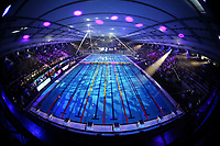 Panoramic view of the pool <br /> Napoli 12-10-2019 Piscina Felice Scandone <br /> ISL International Swimming League <br /> Photo Cesare Purini/Deepbluemedia/Insidefoto
