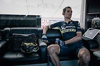 Roman Kreuziger (CZE/ORICA-Scott) pre-race<br /> <br /> 104th Tour de France 2017<br /> Stage 15 - Laissac-Sévérac l'Église › Le Puy-en-Velay (189km)