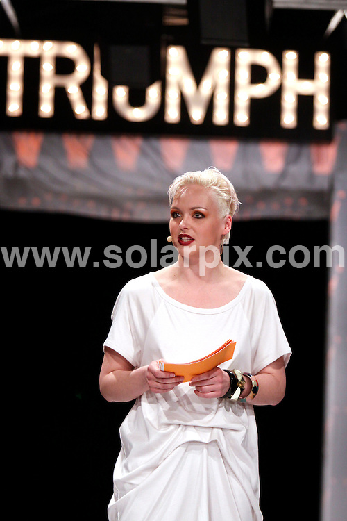 **ALL ROUND PICTURES FROM SOLARPIX.COM**.**SYNDICATION RIGHTS FOR UK AND SPAIN ONLY**.the Triumph Fasihon Award show 2009 comes to Oslo. Oslo, Norway. 5 May 2009...This pic: Oslo Triumph Fasihon Award..JOB REF: 8946 CPR (Kongsted) DATE: 05_05_2009.**MUST CREDIT SOLARPIX.COM OR DOUBLE FEE WILL BE CHARGED**.**ONLINE USAGE FEE GBP 50.00 PER PICTURE - NOTIFICATION OF USAGE TO PHOTO @ SOLARPIX.COM**.**CALL SOLARPIX : +34 952 811 768 or LOW RATE FROM UK 0844 617 7637**