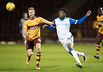 Motherwell v St Johnstone…06.02.18…  Fir Park…  SPFL<br />Andy Rose and Matty Willock<br />Picture by Graeme Hart. <br />Copyright Perthshire Picture Agency<br />Tel: 01738 623350  Mobile: 07990 594431