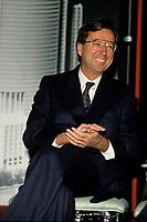 Montreal (QC)CANADA -   File Photo circa 1989-<br /> Quebec Premier and<br /> Liberal Provincial Leader Robert Bourassa