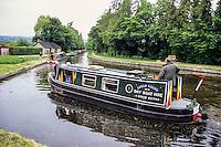 Wales, Llangollen  Canal at Froncysyllte, Wrexham.