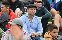 20th March 2021; Dunedin, New Zealand;  Otago Highlanders coach Tony Brown watches the match.<br />
