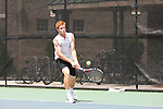 Selected images from Tulane Men's Tennis Team action against USM at the Tulane Goldring Tennis Center.  Southern Mississippi went on to defeat Tulane 4-1.