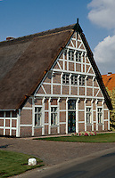 Deutschland, Niedersachsen, Ates Land, Fachwerkhaus im Guderhanviertel