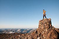 Fra toppen av Seilandstuva på Seiland. ---- From the summit Seilandstuva on Seiland.
