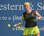 August  18, 2017:  Svetlana Kuznetsova (RUS) battles against Garbine Muguruza (ESP),  at the Western & Southern Open being played at Lindner Family Tennis Center in Mason, Ohio.  ©Leslie Billman/Tennisclix/CSM