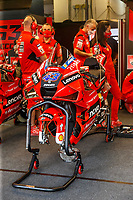 2nd October 2021; Austin, Texas, USA;  Jack Miller (43) - (AUS) motorcycle before Free Practise 3 at the MotoGP Red Bull Grand Prix of the Americas held October 2, 2021 at the Circuit of the Americas in Austin, TX.