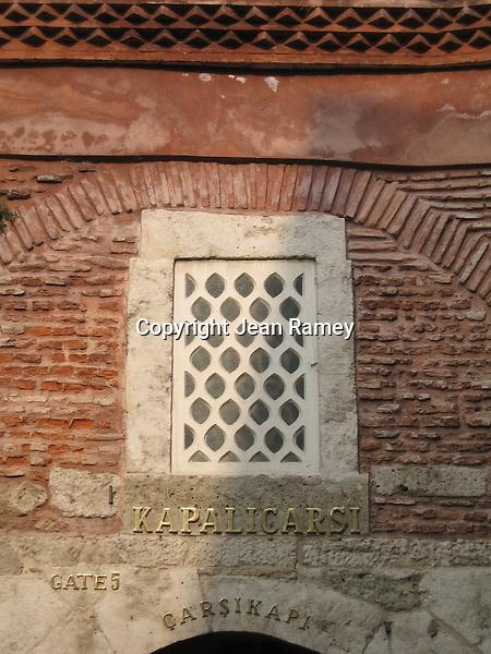 Grand Bazaar Window